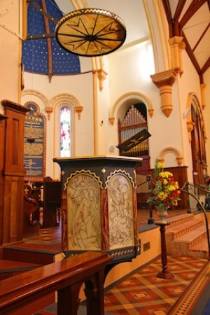 New Christ Church Pulpit